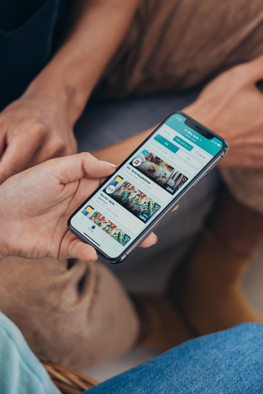 Die Too Good To Go App ist eine Maßnahme um Lebensmittel zu retten.